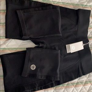 Tory Burch Seamless Cropped Leggings